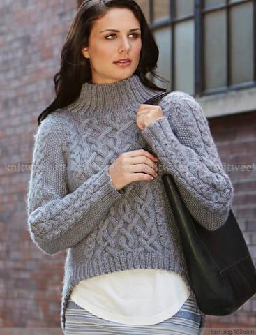 Вязание женский свитер или пуловер