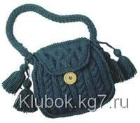 Вязаные сумки - с описанием и схемами 6610142_s