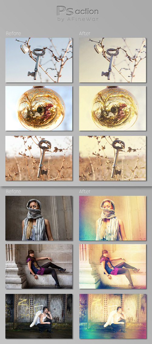Photoshop Actions Pack 31