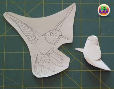 Скульптура из бумаги мастер класс