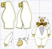 Кукла Тильда - МК и выкройки 6787183_s