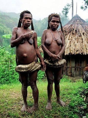 папуасы фото голые