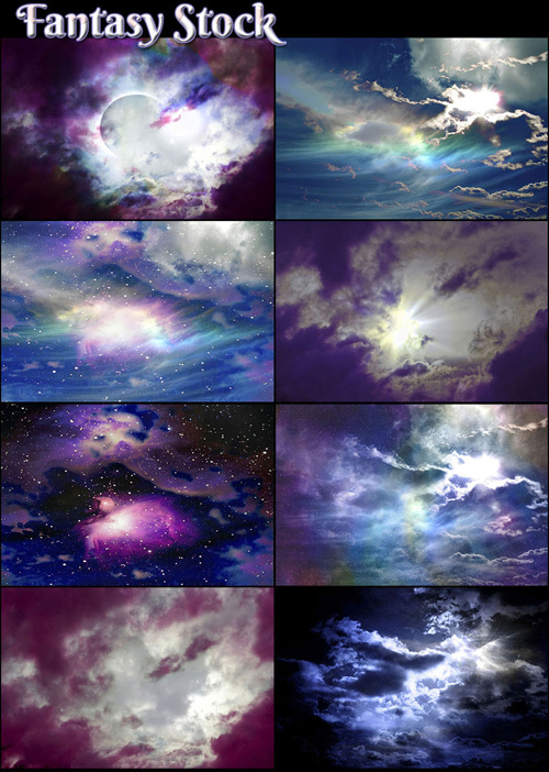 Fantasy Sky - Stock Images