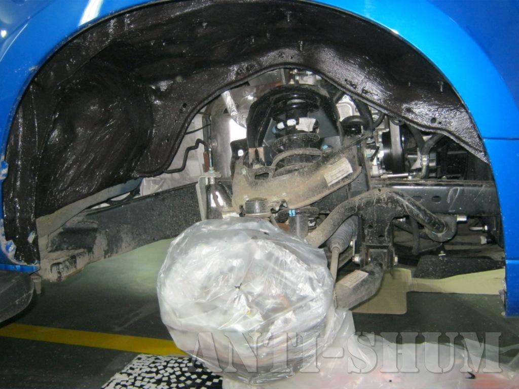 Shumoizolyatsiya Chevrolet Trailblaizer 31