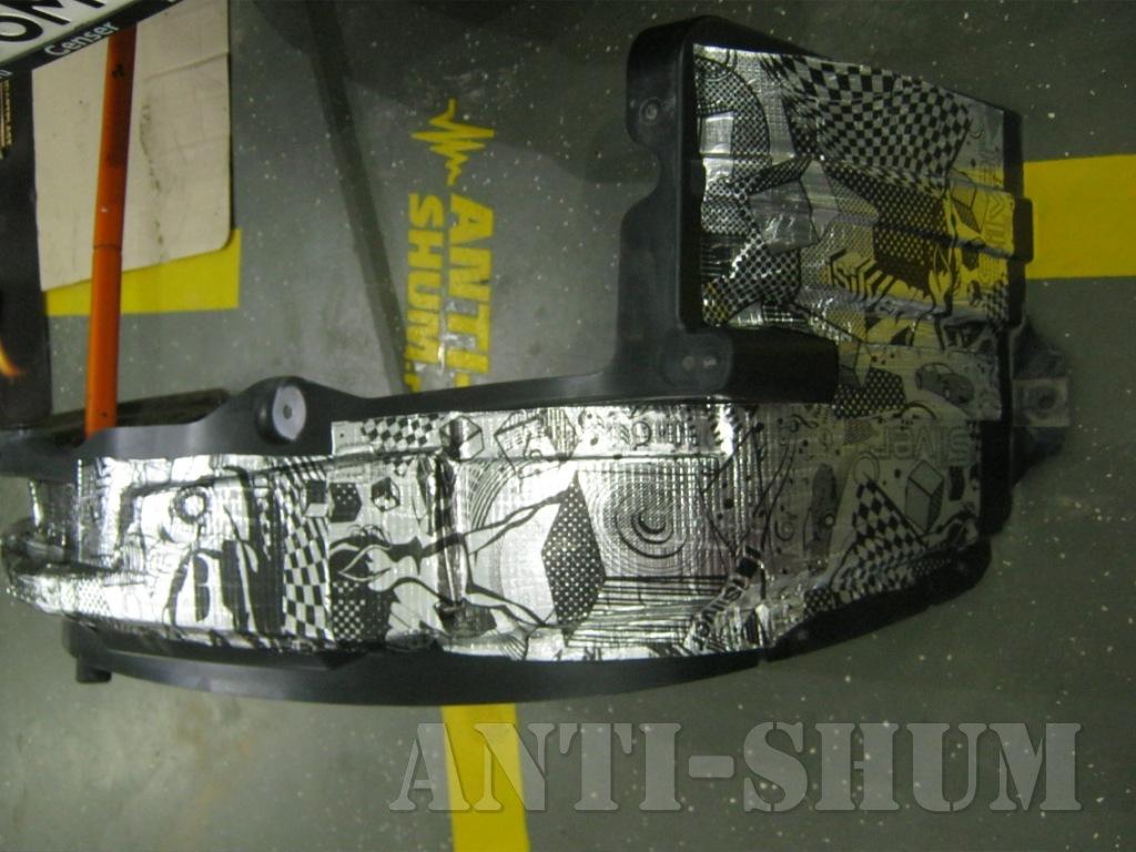 Shumoizolyatsiya Chevrolet Trailblaizer 33