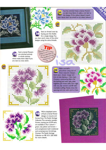 The World Of Cross Stitching 019 Страница 29