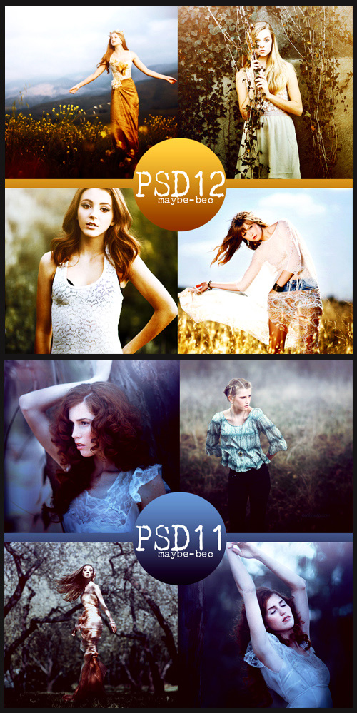 Photoshop Actions - Psd Coloring, part 5