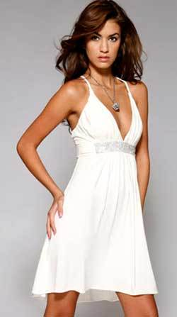 Выкройка платья – корсаж с оборкой