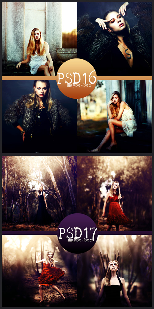 Photoshop Actions - Psd Coloring, part 8