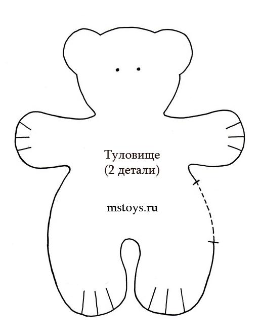Мишка своими руками для начинающих