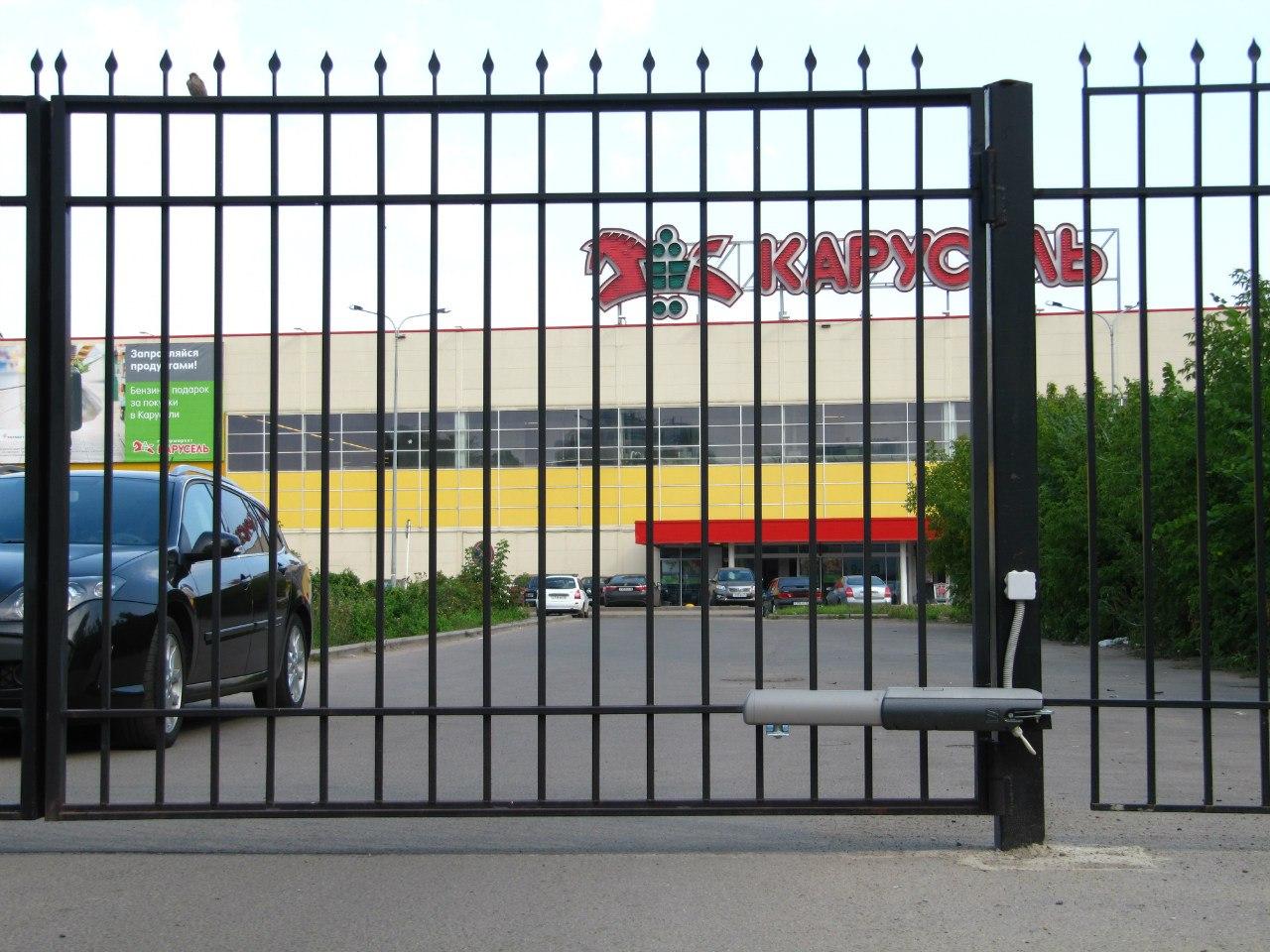 Автоматические распашные ворота ярославль образцы уличных ворот из профиля