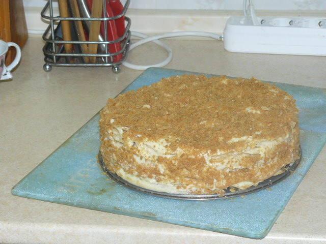 Как сделать коржи торта ровными 358