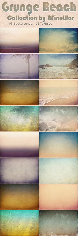 Grunge Beach - Backgrounds & Textures