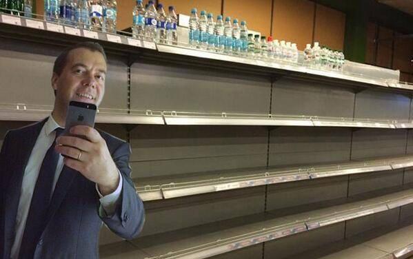 """В супермаркетах Крыма из продажи исчезли некоторые продукты. Пустые полки прикрывают занавесками, - """"Крым.Реалии"""" - Цензор.НЕТ 9236"""