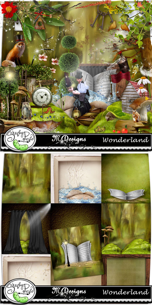 Scrap Kit - Amazing Wonderland