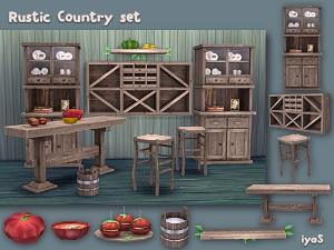 Кухни, столовые (деревенский стиль) - Страница 2 17111898