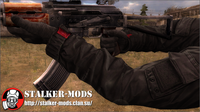 S.T.A.L.K.E.R. Call of Pripyat модель рук