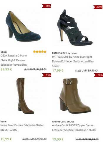 Outlet46.de - Распродажа женской обуви от известных производителей по самым низким ценам. Много моделей из натуральной кожи