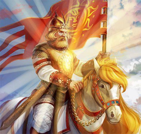 22 мая - Троян (Трибогов День). Ярило Мокры - Тридевятое Царство