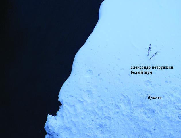 Белый шум обложка А4