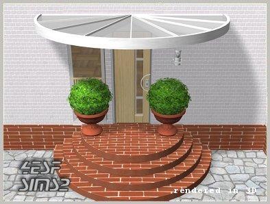 Как сделать закругленную лестницу в симс 4