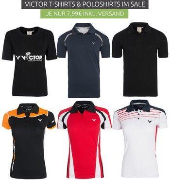 Outlet46.de - VICTOR Polo футболки по 7,99 Евро