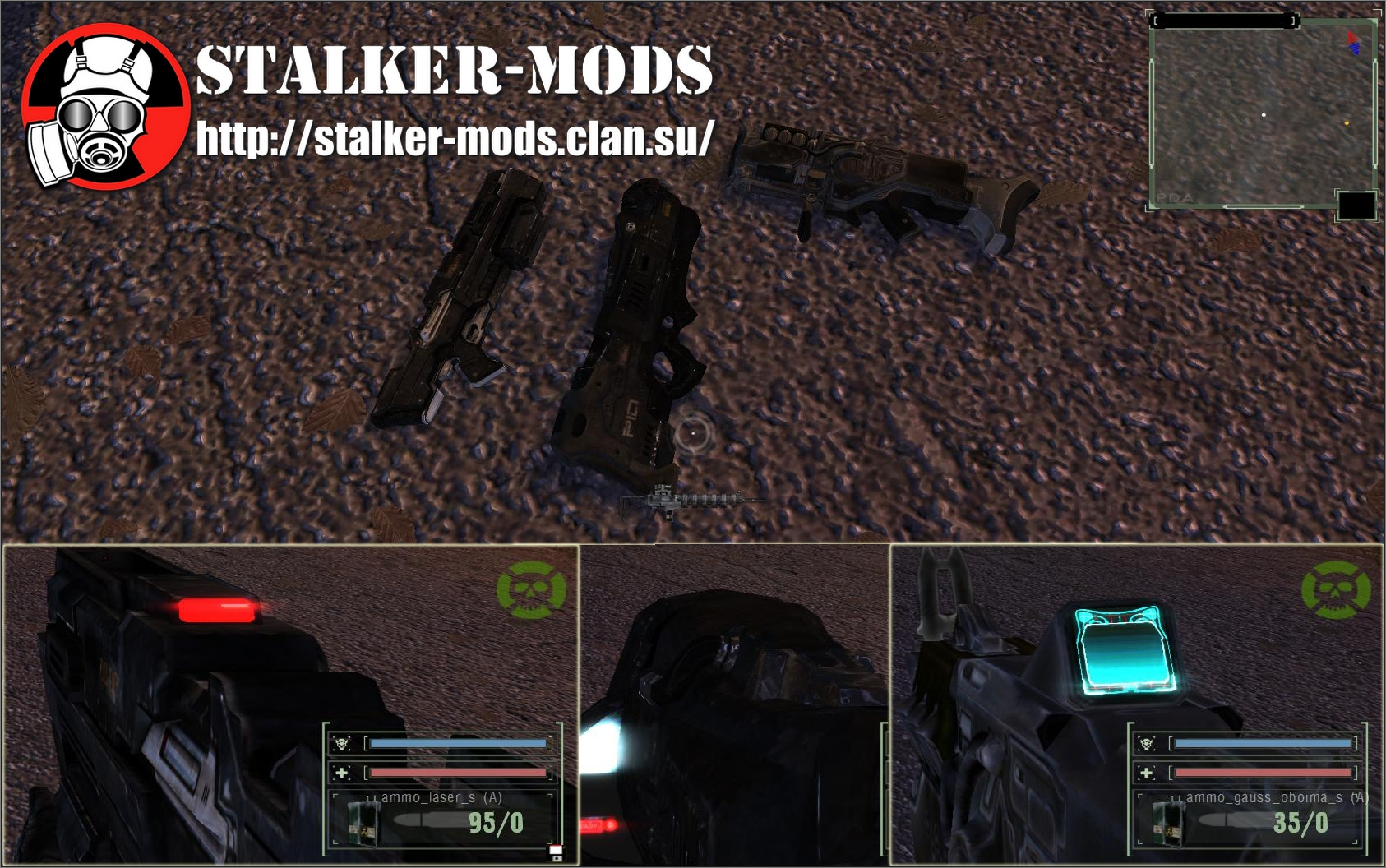 Energy Weapon Models