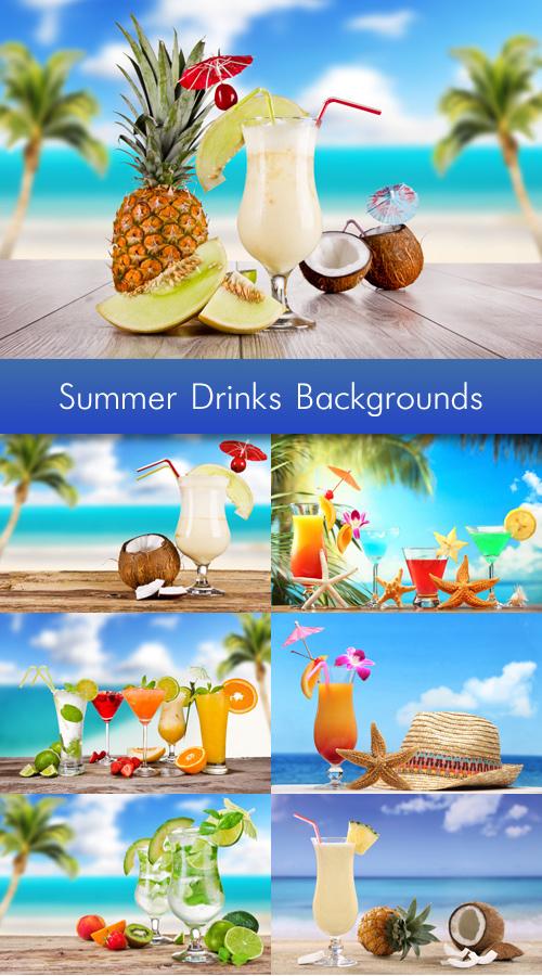 Summer Drinks Backgrounds