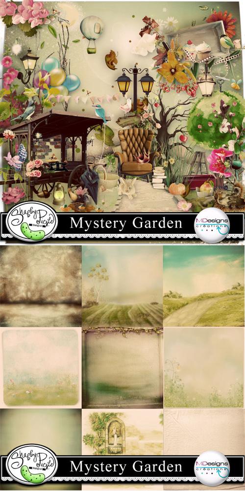 Scrap Kit - Mystery Garden