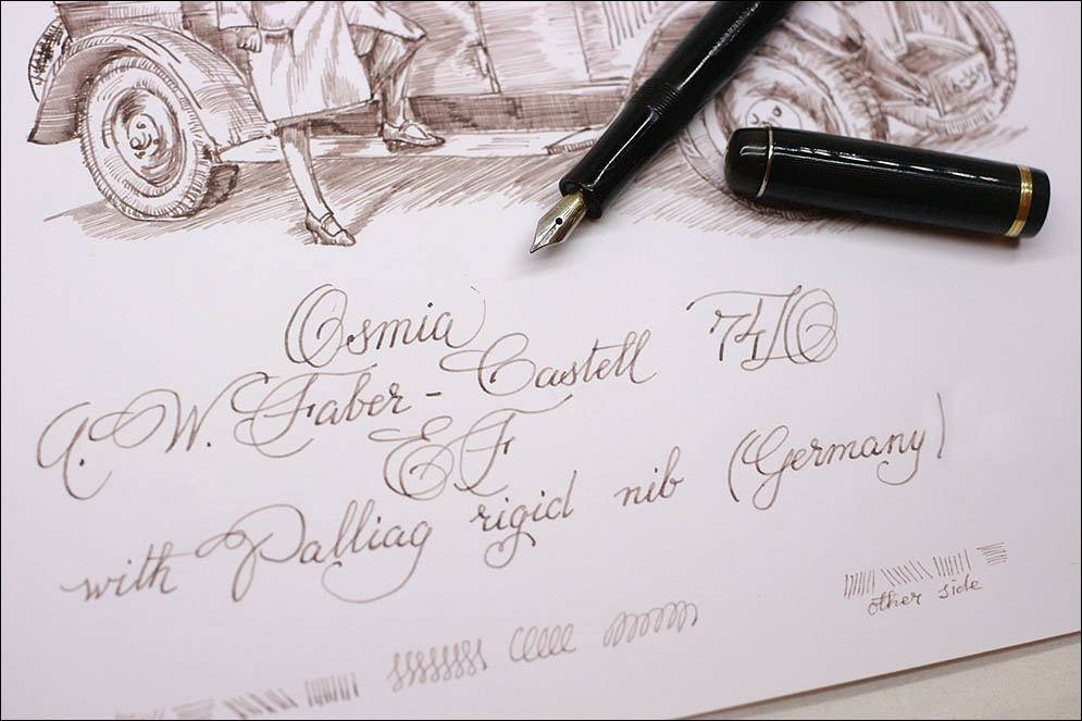 Osmia A.W. Faber-Castell 74D (Germany). Lenskiy.org