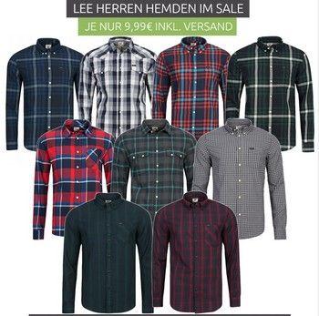 Outlet46.de - Lee мужские рубашки по 9,99 Евро