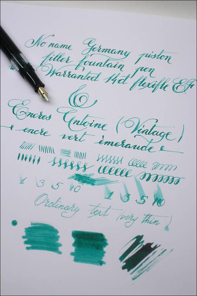 School piston-filler pen (Germany). Lenskiy.org