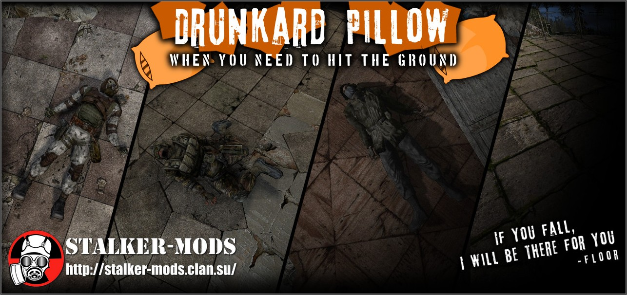 Drunkard Pillow v4