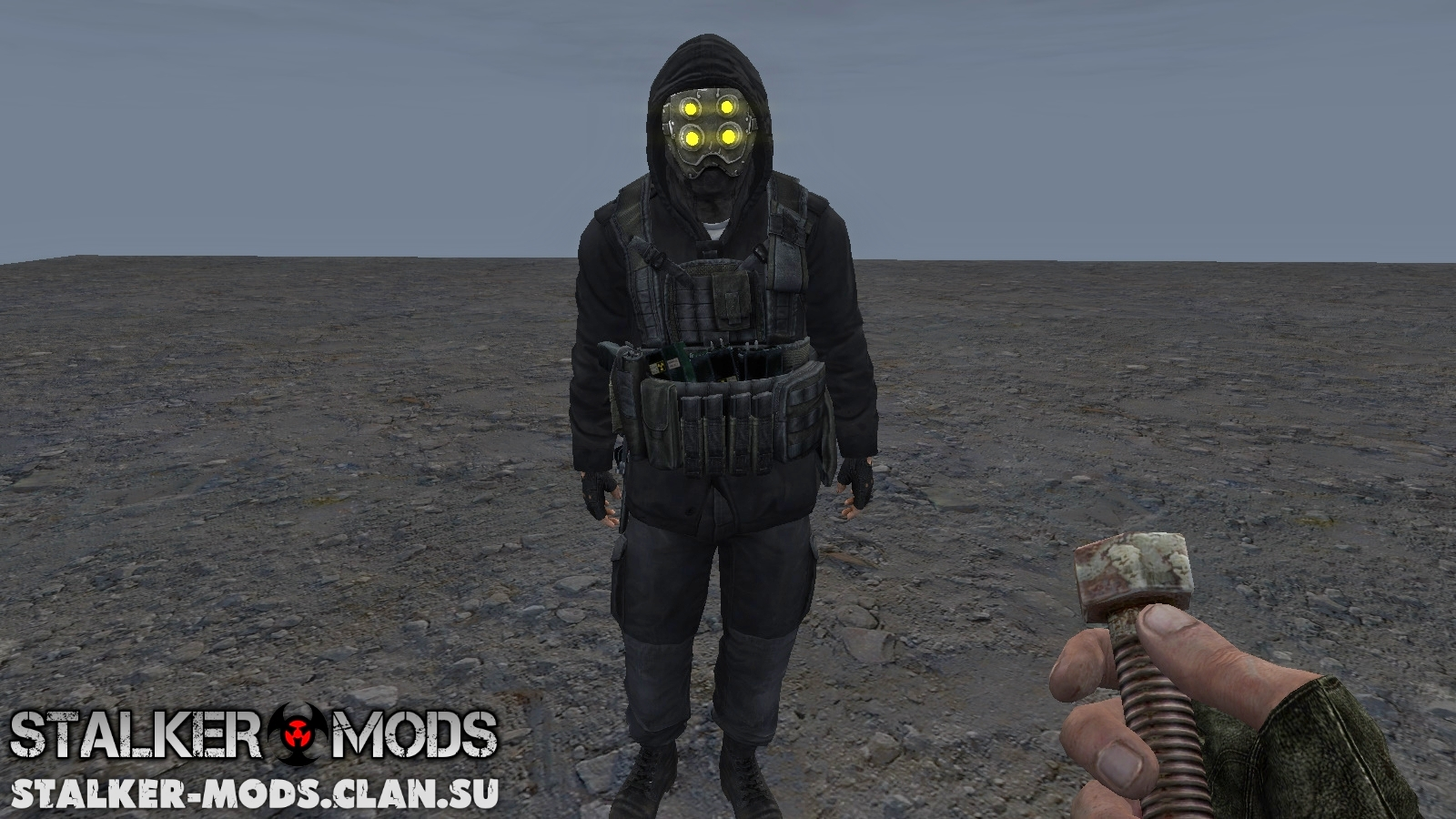 Модель бойца Монолит