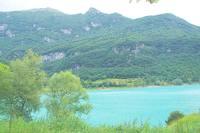 Небольшое озеро в горах вблизи г. Рива дель Гарда. Фото Морошкина В.В.