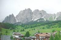 Горный массив над селением Кортина д, Ампеццо. Фото Морошкина В.В.