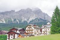 В горном курорте Кортина д, Ампеццо. Фото Морошкина В.В.