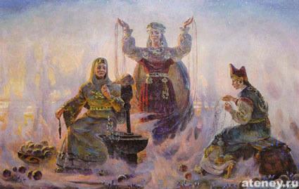 19 июля - Летнее Макошье (Летние Мокриды) - Тридевятое Царство