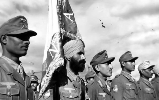 """Легион """"Свободная Индия"""": единственные арийцы Рейха"""