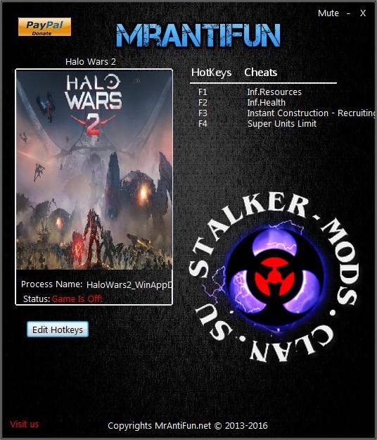 Трейнеры для Halo Wars 2