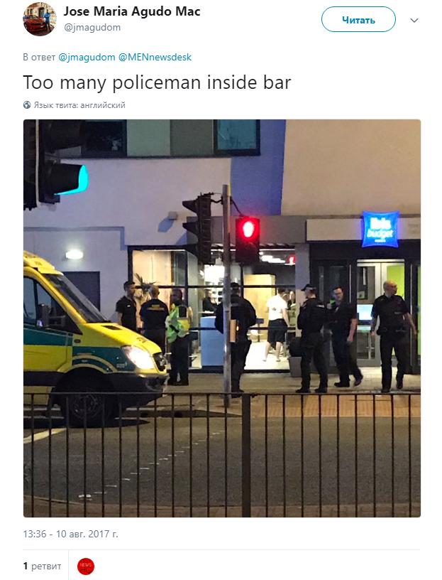 СМИ сообщили о масштабной полицейской операции в отеле в Солфорде | Изображение 1