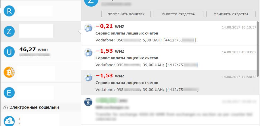 Пополнить счет за вебмани cisco компания