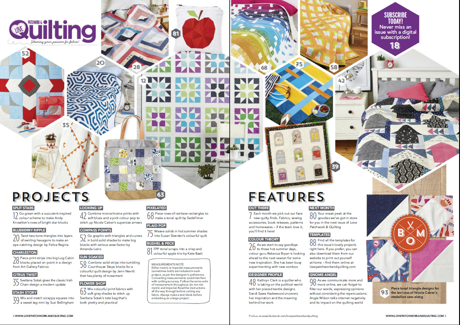Love Patchwork & Quilting №51 2017
