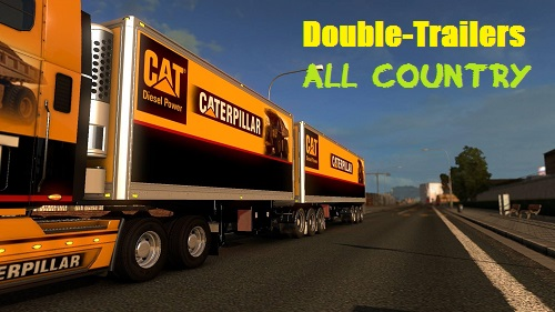 Double trailers in all countries