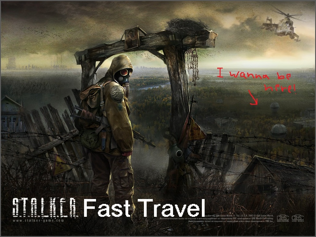 Call of Chernobyl Fast Travel