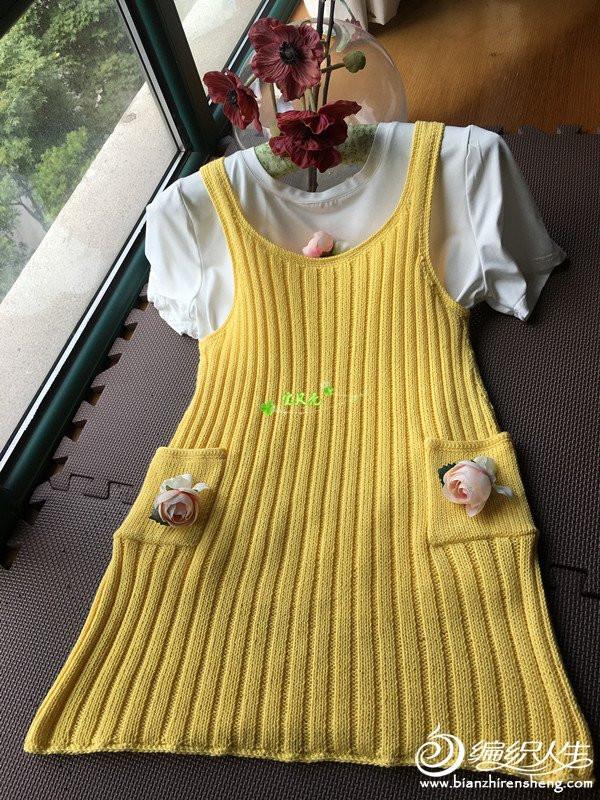 背心裙与玫瑰短披 - maomao - 我随心动