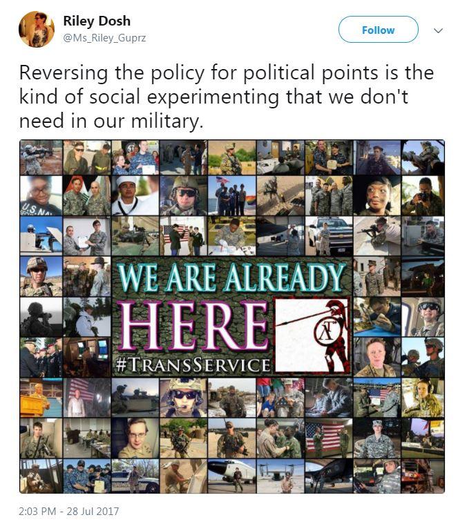 Служить не будут. Почему Трамп решил выгнать трансгендеров из армии США   Изображение 2