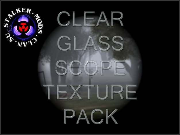Clear Glass Scope Texture Pack 1.0.1