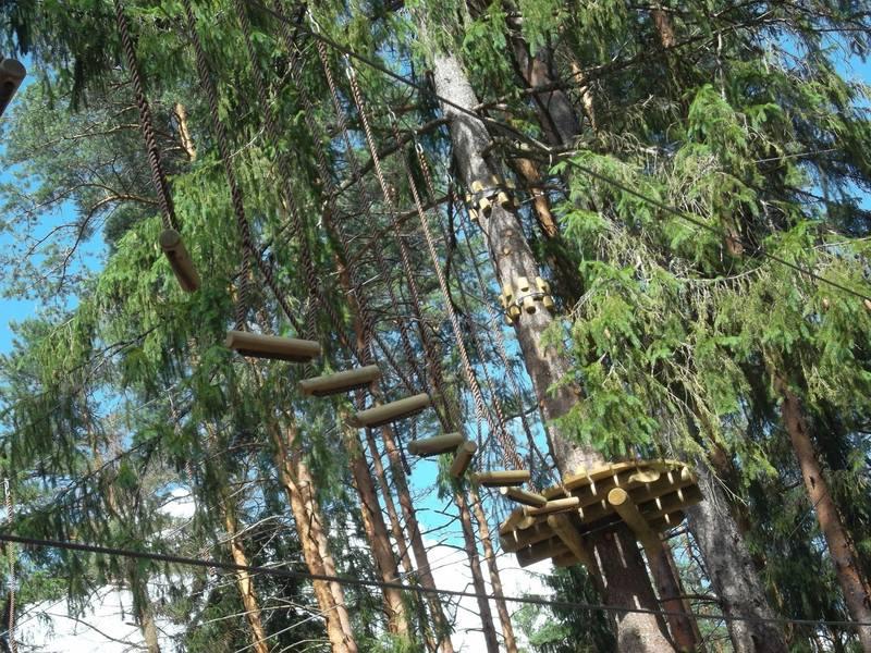 Как сделать веревочный парк