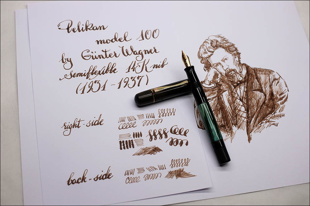 Pelikan 100 by Gunther Wagner